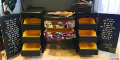 Hand Painted Pop Art Dresser