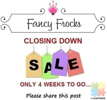 Closing Down Sale!!!