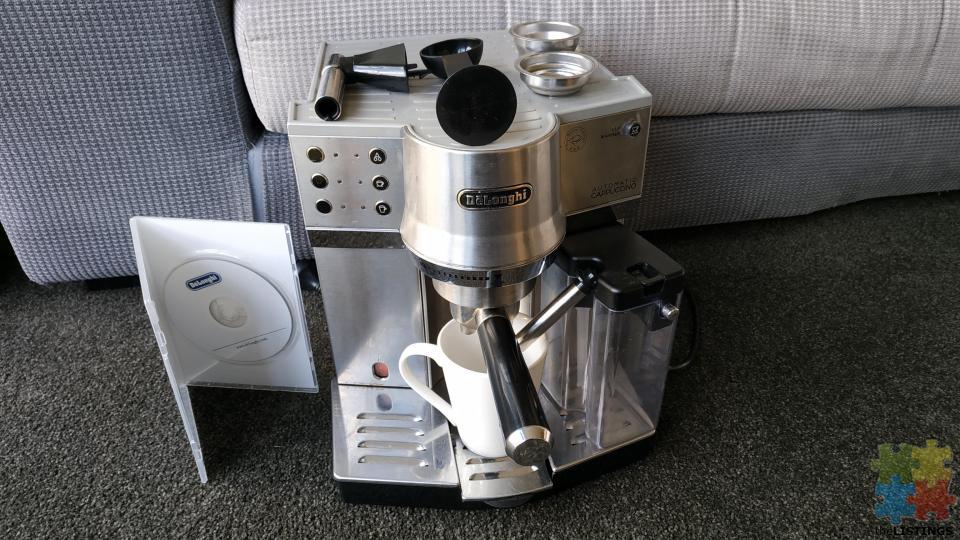 مميزات ماكينة قهوةديلونجي ec860 ومواصفاتها وعيوبها