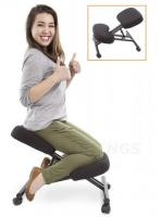 ProErgo Ergonomic Kneeling Chair -Adjustable Height - Office Seating With an Edge!