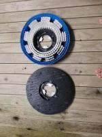 Carpet cleaning machine (135 psi) & Buffer machine