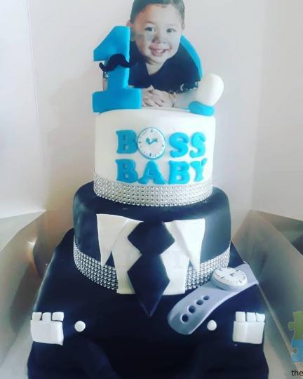 Boss Baby Cake 10 8 6inch
