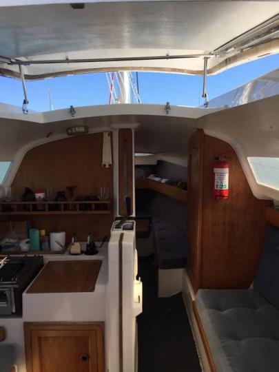 Noelex 25 Trailer Sailer plus mooring at Putiki Bay by separate negotiation - 1/5