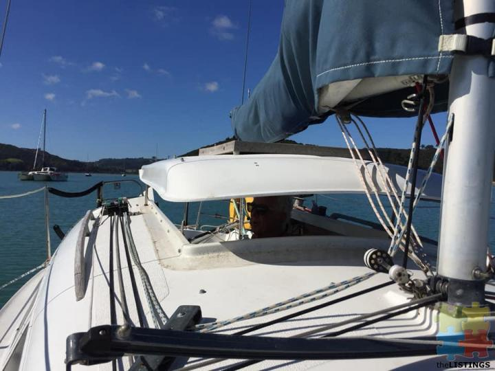 Noelex 25 Trailer Sailer plus mooring at Putiki Bay by separate negotiation - 4/5