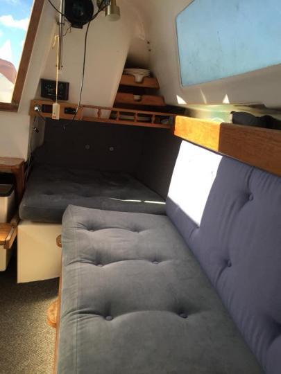 Noelex 25 Trailer Sailer plus mooring at Putiki Bay by separate negotiation - 5/5
