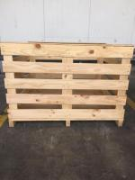 Export bins wooden