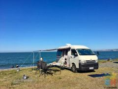 Toyota Hiace 2010 high top - self contained camper van