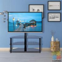 90° Swivel Table TV Cabinet for 32-65'' Flat TV, new