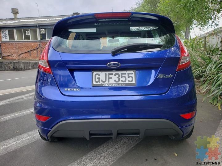 2012 Ford Fiesta Zetec Manual City Centre Cbd Listings New Zealand