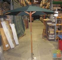2m Wooden Market Umbrella
