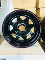 17X8 5X114.3 -28 OFFSET LIMITTED STOCK OFFER BRAND NEW STEEL WHEELS