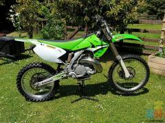 Kawasaki is 250 / R / 2008