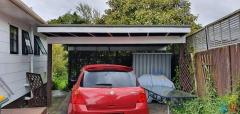 CAR PORT FOR REMOVAL