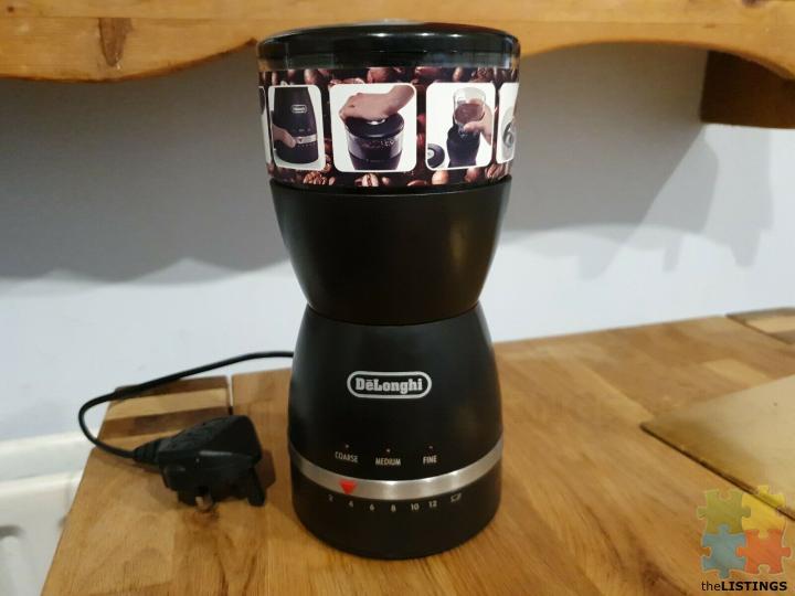 DeLonghi Coffee Grinder KG49 with Grind Selector - 1/3