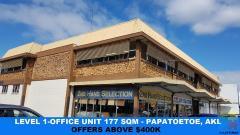 FOR LEASE/SALE - Office Unit 177m2