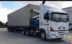 Truck sale with work contract