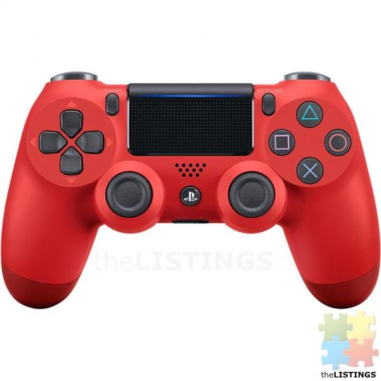Sony PS4 PlayStation 4 DualShock 4 Wireless Controller v2 - Magma Red - 1/2