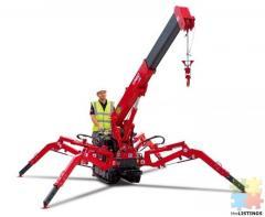 Mini Crawler / spider crane operator