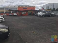 1/2 share of large car yard 170 Great South Road Otahuhu