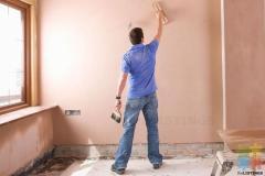 Plasterboard finishing
