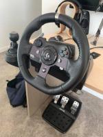 Logitech G920 wheel