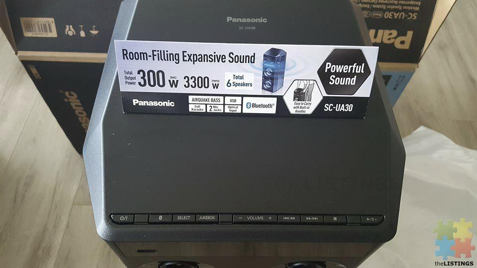 Panasonic UA30GS Mini System - 4/4