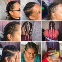 Hair ups with extension or without extension