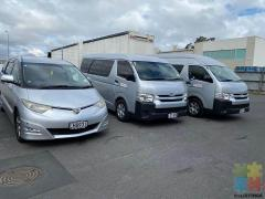 Hiace van 12 seater for hire