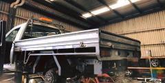 Truck Tray 2.3m x 1.83m x0.19m