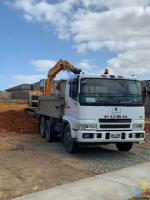 6 wheeler tipper truck for hire $75 + GST p/hour
