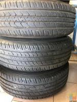 225/65/17 good year tyres and mag wheel set
