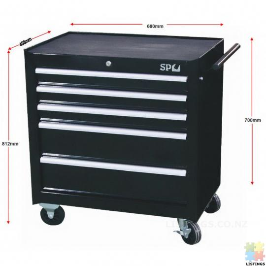 Roller cabinet Tool box SP Tools , Brand New unwrapped. 680W X 460D X 812H SP40111 - 2/2