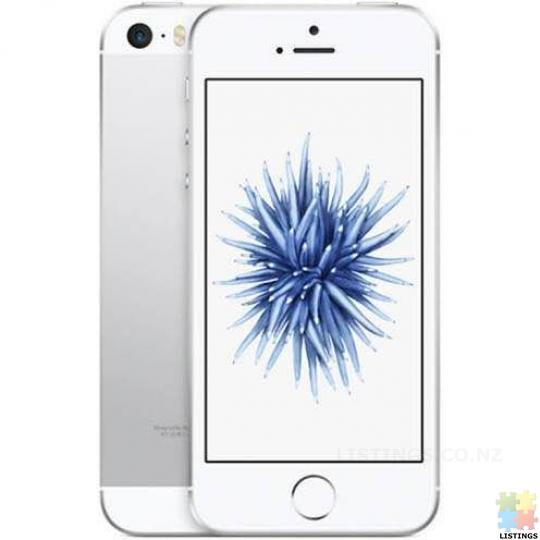 Apple IPhone SE Refurbished (16GB, Silver) A Grade - 1/1