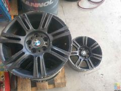 Orignal BMW 320i wheels 8.5×17, stud pattern 5/120 Set of x4 - $400