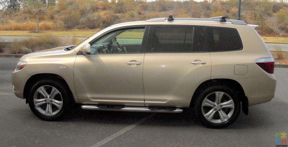 2007 Toyota Highlander 3.5P LTD 4WD in Gold - 1/4