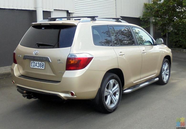 2007 Toyota Highlander 3.5P LTD 4WD in Gold - 2/4