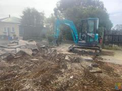Digger Hire with operator $80 per hour