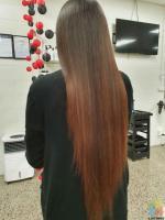 Keratin smoothening straightening