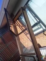 Single glaze window open both side W 2400x H 1000