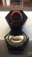 G-Shock Watch (Red) **Genoa pay available **