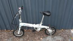 Kids electric folding bike