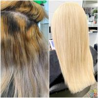 Before and after (blonde) afterpay,oxipay and ganeopay available
