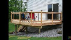 Decks fences retaining walls etc