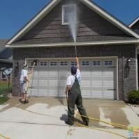 Gutter cleaning and housewash combo
