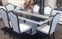 2 meters Large Dining Table