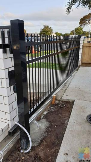 Aluminium Gates, Fencing, Electric motors, CCTV, Alarms Supply & Install - 2/3