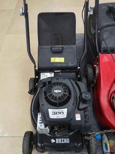 *GENOA PAY AVAILABLE* RHINO 125CC LAWNMOWER - 1/1