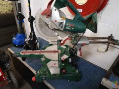 **GENOA PAY AVAILABLE** BOSCH DROP SAW