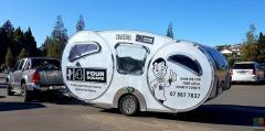 FOR SALE - Be Your Own Boss with a Retro Food Trailer (or caravan) Like No Other!!