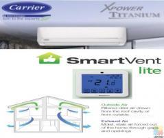 5.9KW Heat Pump + 4 Outlet Ventilation System Combo